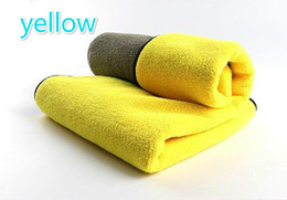 Горячая чистка автомобиля полотенце продажа микроволокна утолщенной сверхпоглощающему высокой плотности ватки автомойки полотенце 30 * 40 на Распродаже