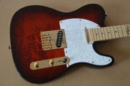 $enCountryForm.capitalKeyWord UK - Custom shop 22 trastes tl guitarra elétrica Castanho vermelho maple Fingerboard 6 cordas da guitarra  frete grátis