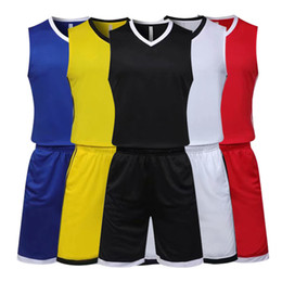 934ca6d8714 Yellow Basketball Uniforms UK - Basketball Clothing Suits Men Women Basketball  Clothing Training Sportswear Basketball Uniforms
