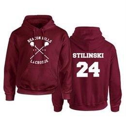 c6d0eed04b4 Stilinski 24 Australia - Teen Wolf Hoodie Men Stilinski 24 Lahey McCall  Pullover Sweatshirt Male Print