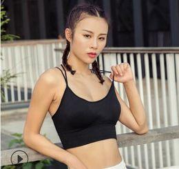Types bra size online shopping - Double Layer Sports Bra Large Size Thin Type Sports Bra Yoga Sports Bra Vest Women Adjustable Underwear No Steel Ring