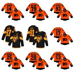 5b71c0d5a7a 2019 Serie Stadium Jersey 28 Claude Giroux Sidney Crosby Simmonds Shayne  Gostisbehere Couturier Carter maglia da hockey su ghiaccio di buona qualità