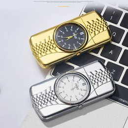 $enCountryForm.capitalKeyWord Australia - Colorful Windbreak Watch Features Portable Innovative Design USB Charging Lighter For Cigarette Smoking Pipe High Quality Multiple Uses DHL