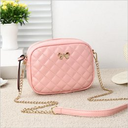 $enCountryForm.capitalKeyWord Australia - Best selling designer Shoulder Package Women new Messenger bags Fashion Diamond bow Chain Handbags PU Leather