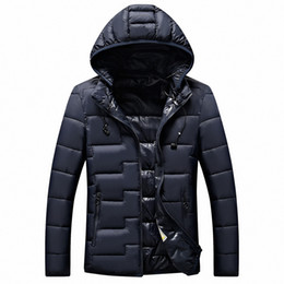 winter parka jackets for men Australia - Hot New Winter Men Fashion Jacket Warm Down Jacket Casual Parka Men Padded Casual Handsome Coat for Plus Size 4XL