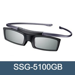 freer eyewear Australia - Official Original 3D glasses ssg-5100GB 3D Bluetooth Active Eyewear Glasses for all Samsung TV series Free Shipping