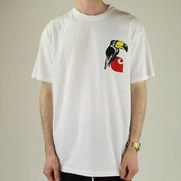$enCountryForm.capitalKeyWord NZ - Summer S S Nose Bird T-Shirt Tee in White Brand New in S,M,L,XL