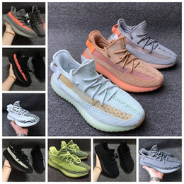 8e8056b81 Kanye west boost shoes online shopping - Kanye West Boost V2 Men Women  Running Shoes Clay