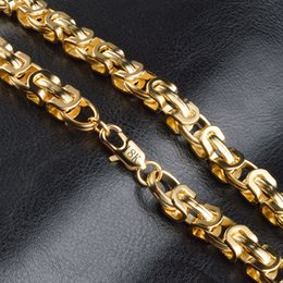 $enCountryForm.capitalKeyWord Australia - womens mens gold chains 18K gold plated necklace men's figaro chain necklaces for Men Women jewelry man woman accessories wholesale
