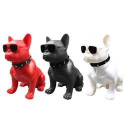 $enCountryForm.capitalKeyWord Australia - Portable Bulldog Bluetooth Speaker M11 Large Full Body Dog Double Speaker with TF Radio TF Card