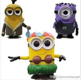 minions christmas gift NZ - Pretty DHL NEW Wholesales price FOR KIDS Christmas gift FUNKO POP Minion Vinyl Action Figure With Box Toy Gify Doll Good Quality