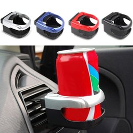 wholesale clip water bottle holders Australia - New Clip-on Auto Car Truck Vehicle Air Condition Vent Outlet Can Drinking Water Bottle Coffee Cup Mount Stand Holder Accessories