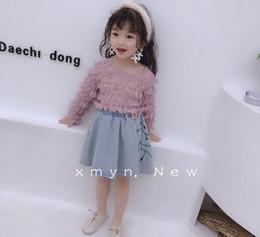Girls Tassel Shirt Australia - 2019 Spring Baby Girls Sweet Tassel Blouse, Princess Kids Fashion Candy T-shirt 5 pieces lot, Wholesale