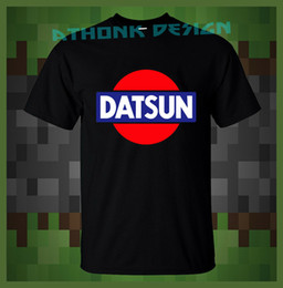 $enCountryForm.capitalKeyWord Australia - Datsun Classic Logo Racing Mens 2019 New Short Sleeve Men 100 % Cotton for Men Custom Tee Shirts