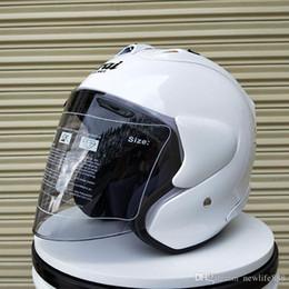 2019 ARAI capacete da motocicleta meia capacete capacete aberto casque motocross TAMANHO: M L XL XXL ,, Capacete frete grátis venda por atacado