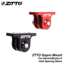 $enCountryForm.capitalKeyWord Australia - ZTTO GoPro Mount For Original Garmin Bryton II 2 igpsport Out-front Bike Computer GPS Combo Holder Handlebar Camera Adapter