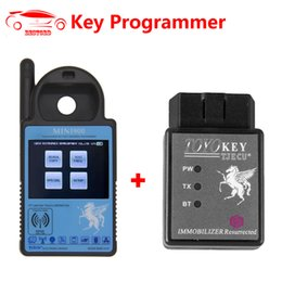 Porsche Programmer Reader NZ - MINI ND900 Transponder Key Programmer + Toyo Key Support for Toyota all key lost Same As CN900 for 4C 4D 42 46 48  72G Chip