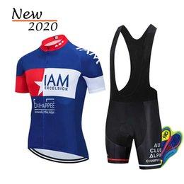 Hommes Bike Jersey bib Shorts Set Summer Respirant Cyclisme Vêtements de vélo uniforme