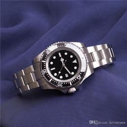 Logo Brand Man Watch Australia - Top Luxury Logo Brand Men Watch Stainless Steel Automatic Movment Sapphire Glass Mirror Dive Watch Auto Date Wristwatches Black
