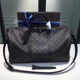 Toptan satış 2019 Marka tr ve kadınlar büyük kapasiteli bagaj çantası bagaj gerçek su geçirmez çanta Duffel Çanta M436130