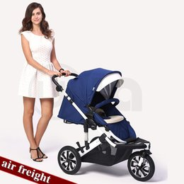 $enCountryForm.capitalKeyWord Australia - Three-wheeled stroller high landscape can sit and retreat to stroller baby
