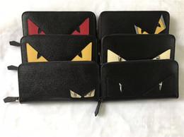 Long Mens Chain Australia - Man long wallet men's cartoon wallet leather purse designer wallet card holder Fashion mens designer purse Couple wallets 20cm*11cm*2.5cm