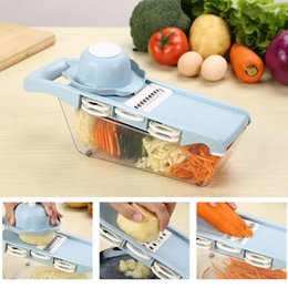 $enCountryForm.capitalKeyWord Australia - Manual Vegetable Cutter Stainless Steel Blade Mandoline Slicer Cheese Grater Carrot Potato Peeler Vegetable Slicer dicer kitchen