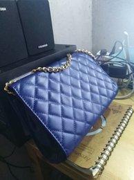 Blue Leather Bags Sale NZ - Free shipping 2019 brand hot sale Messenger bag blue leather Messenger bag ladies retro handbags ladies shoulder bag