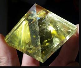 China Crystals Australia - Crystal Natural Citrine Quartz Crystal Pyramid Healing China