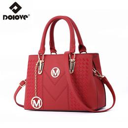 $enCountryForm.capitalKeyWord Australia - Fashionable New Style Women's Bags 2019, Pu Leather Messenger Bag, One-shoulder Diagonal Embroidery Handbag