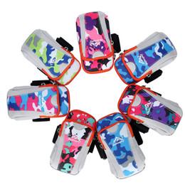 Wrist Phone Cases For Running Australia - 6 inches Running Unisex Nylon Jogging Gym Bag Sport Running Wrist Arm Bag For Phone Case Armband Outdoor Hand Bag