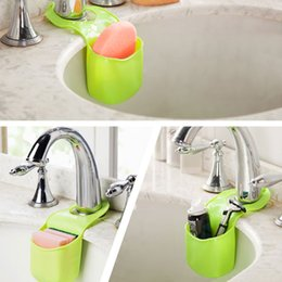 Kitchen Containers Wholesale Australia - New 3 Colors Storage Boxes Container For Kitchen Home Creative Plastic Hang Bathroom Water Could Be Filtered Out
