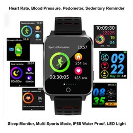 $enCountryForm.capitalKeyWord NZ - New Smart Watch X9 Health Care for Android IOS Mobile Phone Heart Rate Monitor Sleep Monitor Smart Wrist Watch LED Light