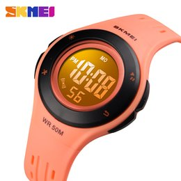 kids digital sports watch Australia - Watches For Kids LED Sport Style Children's Digital Electronic Watch Boys Girls Children Cartoon 50M Waterproof Watch SKMEI