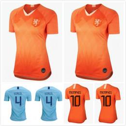 4d2152101a1 2019 Netherlands European Cup jerseys DE JONG VIRGIL PROMES MEMPHIS  Football shirts 19 20 Holland National Team home away Soccer Jerseys