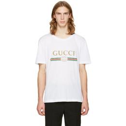 c03ac2fd79 Branco e preto T-shirt de basquete dos homens de algodão de manga curta  solta GG imagem de alta qualidade T-shirt dos homens baratos T-shirt s-5xl