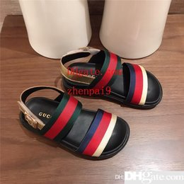 $enCountryForm.capitalKeyWord Australia - Trendy Kids Shoes for Sale Designer Childrens Sandals Solid Footwear for Boys Fashion Children Shoes in Top Quality