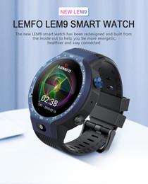 $enCountryForm.capitalKeyWord Australia - LEMFO LEM9 Dual Systems 4G Smart Watch Android 7.1 1.39 Inch 454*454 Display 5MP Front Camera 600Mah Battery Smartwatch Men