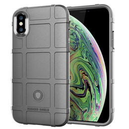 Iphone Tactical Australia - 360 Degree Full Body Protection Phone Case for Iphone XS MAX Soft TPU Thick Solid Armor Tactical Protective Cover Case