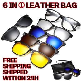 8def5949cf RBEWTP 2018 New Ultra-light Polarized Clip On Sunglasses Men Women Magnetic  Eyewear Eyeglass Frames TR90 Optical Glasses Frame