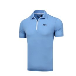 $enCountryForm.capitalKeyWord Australia - 2019 Summer Golf Shirts Quick Dry Golf Tops for Man Summer Short Sleeve Sports Shirt Breathable Male Sportswear Anti Sweat