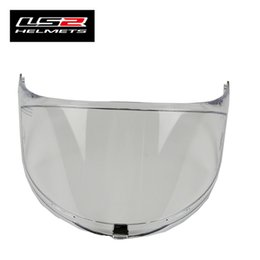 $enCountryForm.capitalKeyWord Australia - 1 piece Glass for LS2 FF323 Helmet visor Replacement Face Shield For LS2 FF323 Transparent Black Silver Tinted Rainbow