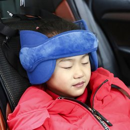 Kids Car Seat Belt Australia - New Baby Kids Boy Girl Head Neck Support Car Seat Belt Safety Headrest Pillow Pad Protector Unisex Car Seat Pillow Over 3Years