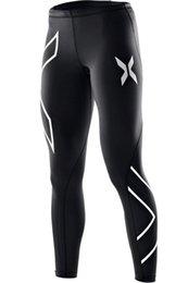 Red Black Leggings Wholesale UK - 2019 Brand Fitness Running Tights Gym Yoga Pants Crossfit Jogging Sports Leggings Sports Casual Sportswear Running Elastic Pants