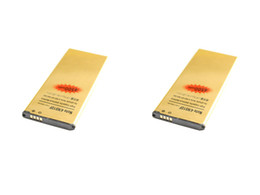 Chinese  2019 new 2x 4500mAh EB-BN910BBE Gold Replacement Battery For Samsung Galaxy Note 4 IV N910F N910H N910S N910T N910V N910A N910C N910G manufacturers