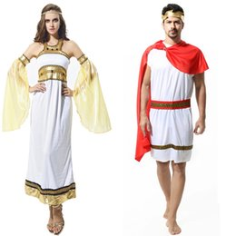 Wholesale cos clothes for sale - Group buy Party Cosplay Costume Halloween Theme Cos Clothes Ancient Greek Mythology Goddess Roman Parliament Clothing Adult Kids Samurai Costume