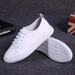 $enCountryForm.capitalKeyWord Australia - New Fashion Brand High Quality Women White Casual Shoes Female Soft Genuine Leather Girls Comfortable Round Toe Lace Up Woman Sneakers