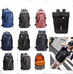 $enCountryForm.capitalKeyWord Australia - Brand Unisex U&A Backpack Letters Print Men Women Shoulder Bags High Quality Oxford Travel Duffle School Bags Sports Packsack 8 Color B71203