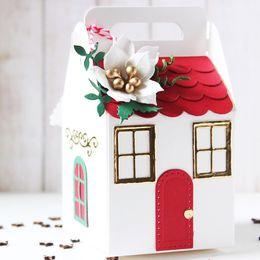 $enCountryForm.capitalKeyWord Australia - Christmas Decor Metal Cutting Die Candy Gift Box Stencil for DIY Scrapbooking Photo Album Embossing Paper Stitch Craft Die