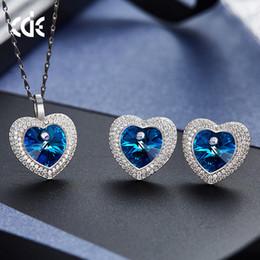 $enCountryForm.capitalKeyWord Australia - Wedding Party beaded pearl gift woman lady diamond jewelry set for bride acting initiation graduation CDE-1484